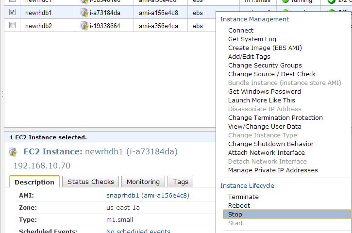 AWS – Sql Server Powershell